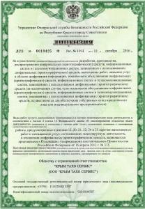 Лицензия ФСБ, стр.1